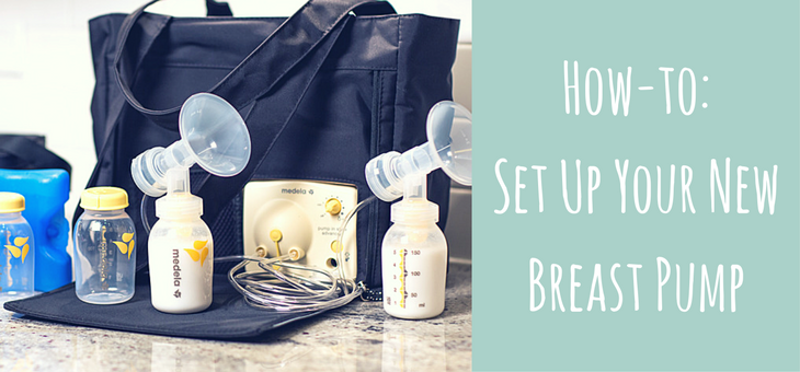 How to Set Up Your New Breast Pump