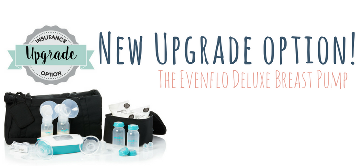 New Upgrade Option: The Evenflo Deluxe!