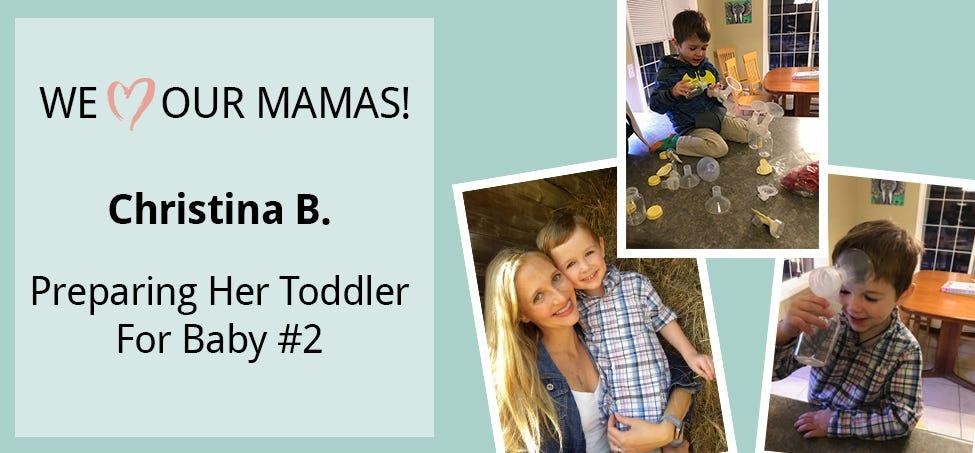 Meet Christina – Preparing Her Toddler for Baby #2