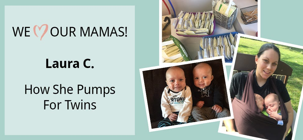 Meet Laura - How She Pumps for Twins!