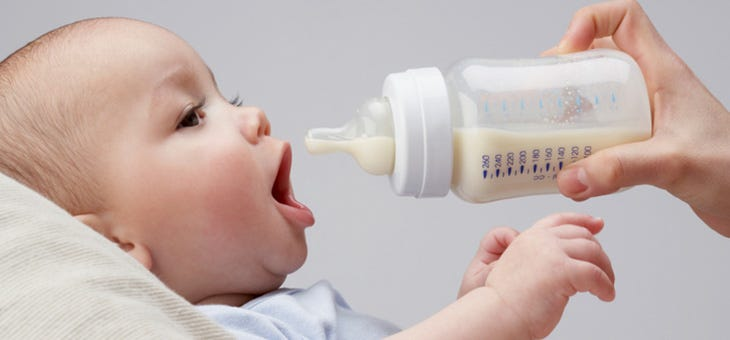 How Much Should I Be Feeding My Baby?