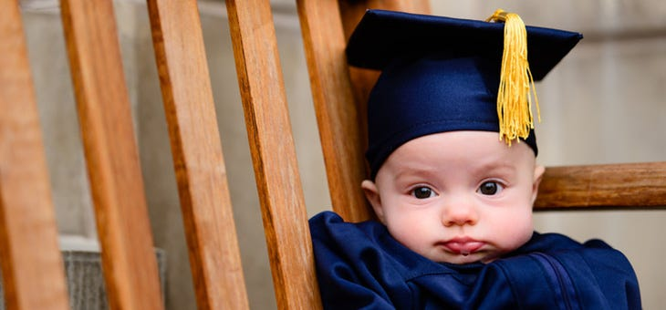 Babies With Large Heads More Likely to Succeed
