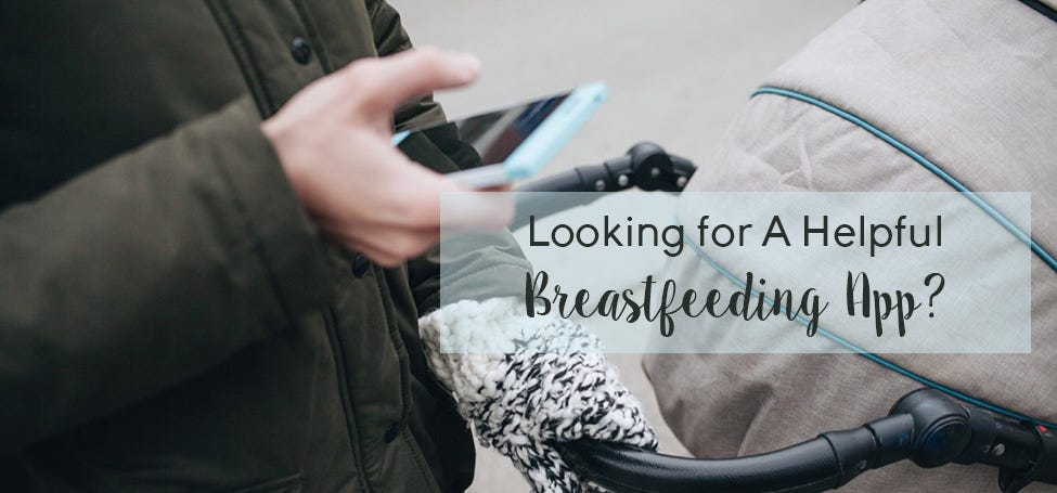 Cool New App To Help With Breastfeeding
