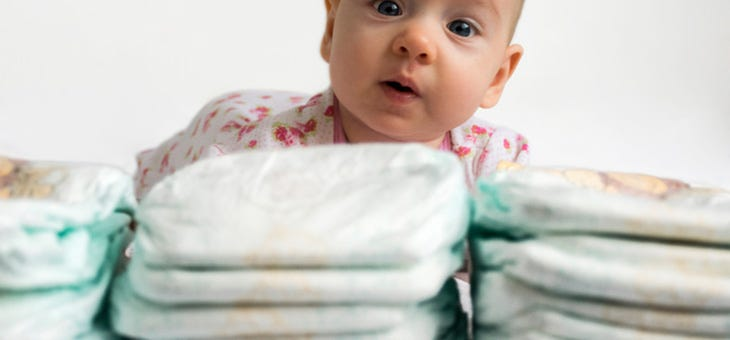 Do Yourself a Favor: Hide Diapers Everywhere!