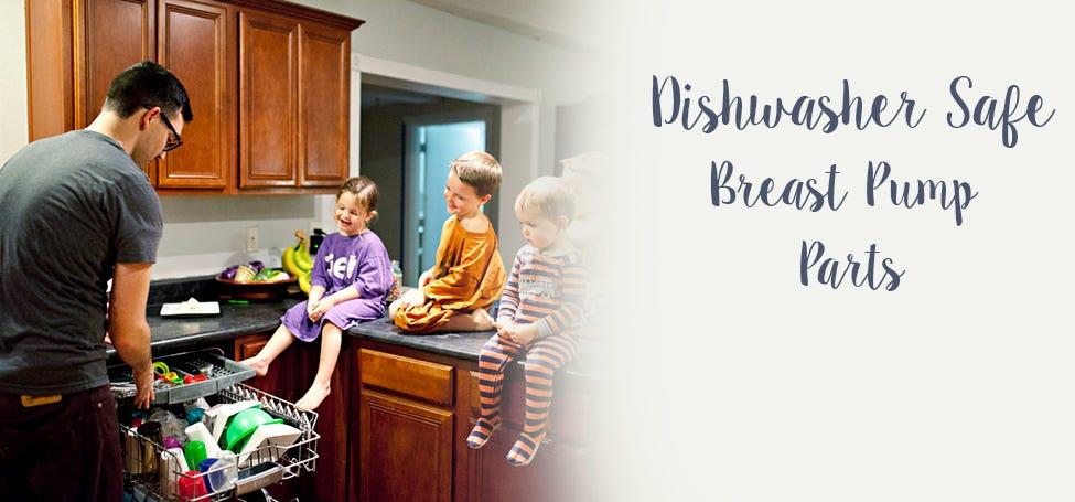 Dishwasher Safe Breastpump Parts