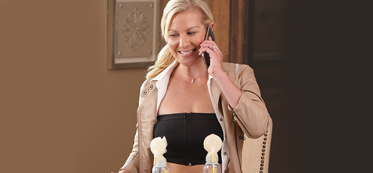 Alli's Pumping Story: Reviewing the Medela Easy Expression Bustier