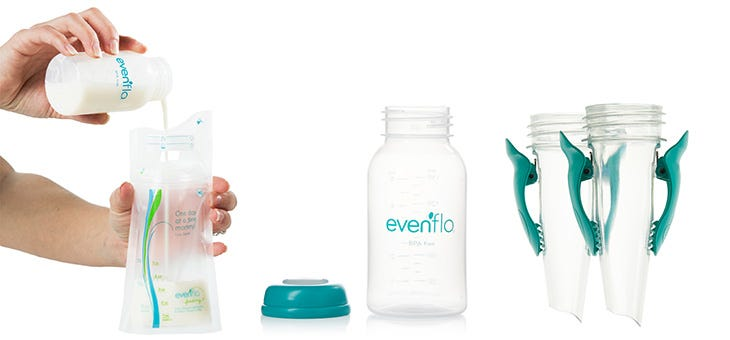 Evenflo Breastpump and Accessories