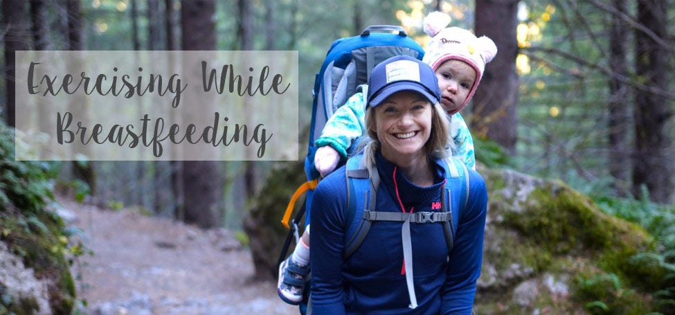 Exercising While Breastfeeding