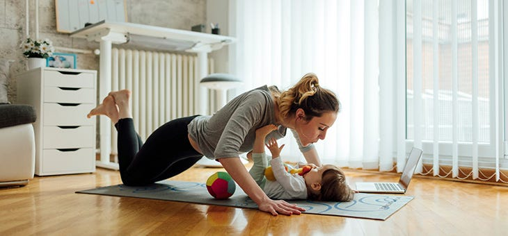 7 Minute Wellness App — Workouts for Moms