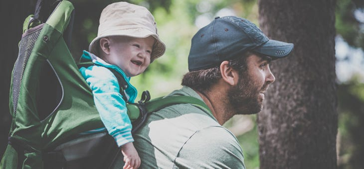 Hike it Baby! Reasons to Get Your Baby Outside