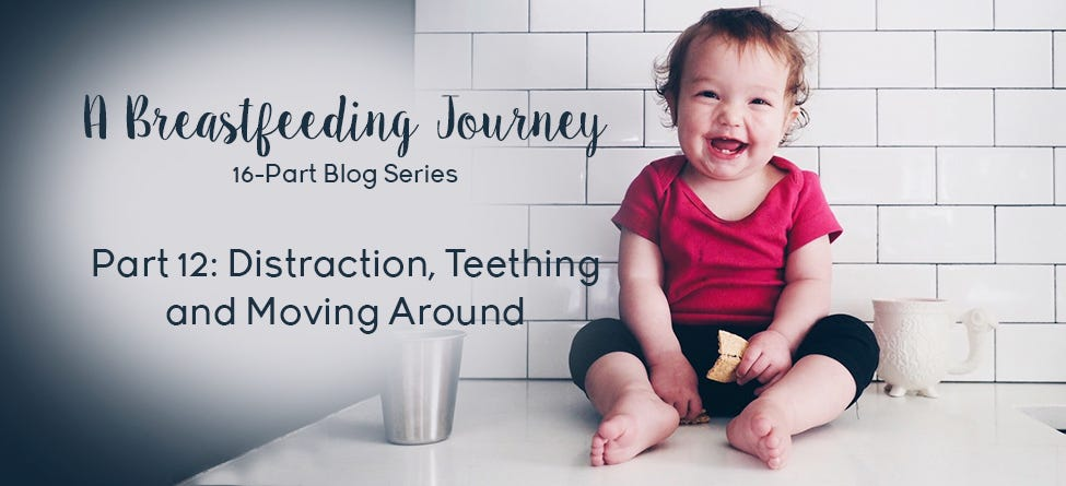 Part 12: Distraction, Teething, and Moving Around