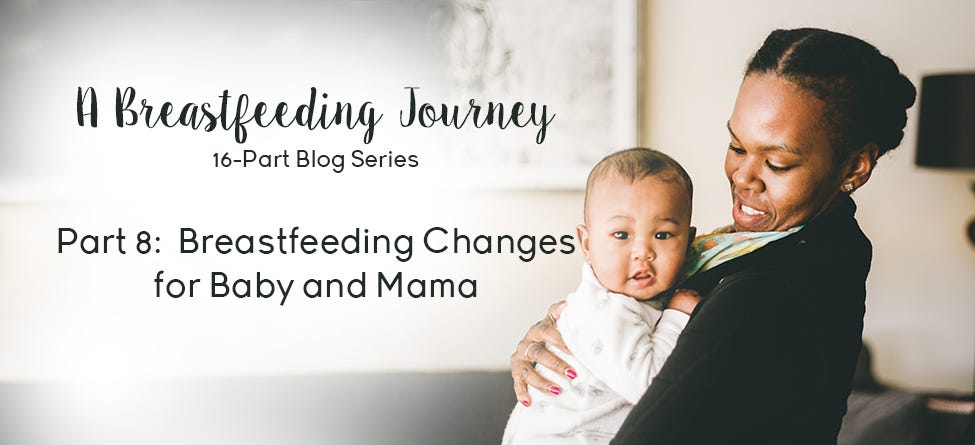 Part 8: Breastfeeding Changes for Baby and Mama