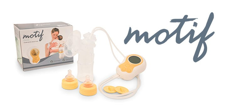 Introducing Our New Favorite Breast Pump: the Motif Duo!