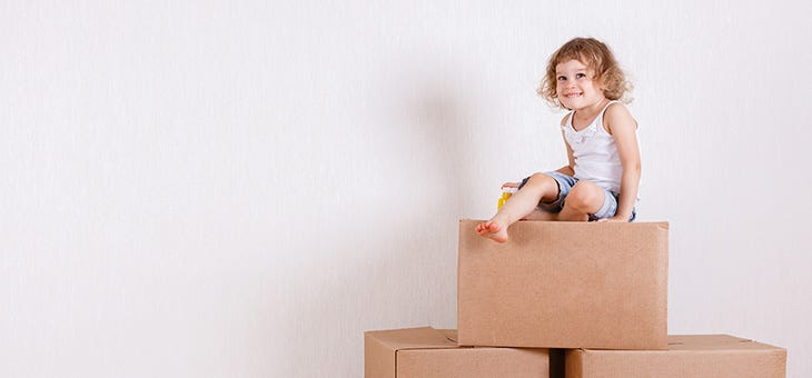 Moving Homes When Pregnant or with a Newborn