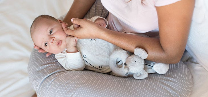 Is it Safe for Babies to Sleep on Nursing Pillows?