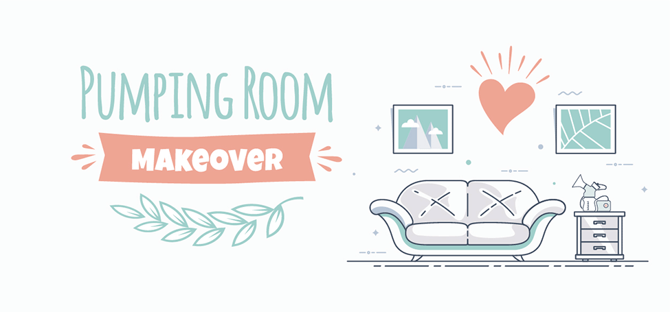 Pumping Room Makeover