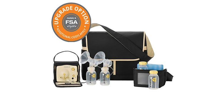 Upgrade Breast Pump Options