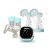 Zomee Z2 Double Electric Breast Pump with Manual Pump Converter
