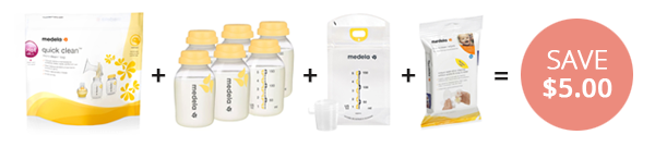 Save BIG on Medela Pumping Essentials Kit