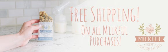 Free Shipping on all Milkful purchases!